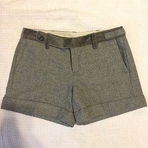 Paperboy Wool Cuffed  Shorts Anthropologie Size 4
